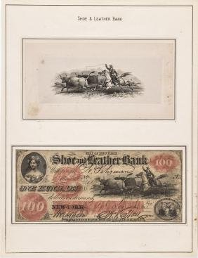 Historic Vignette/Obsolete Note 4 Item Group Lot