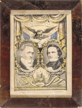 1856 Campaign James Buchanan-John C Breckinridge