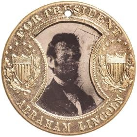 1864 Lincoln/Johnson Presidential Campaign Medal