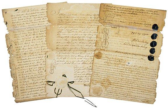 4017: MARQUIS DE LAFAYETTE, Document Signed, 1835