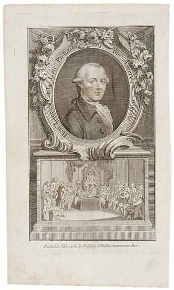5024: 1780 Engraving of Henry Laurens