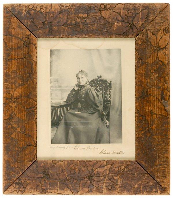 1: Signed Photo by Clara Barton, 1903