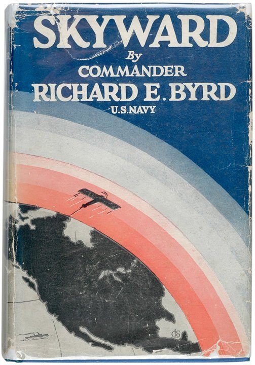 10: Hardcover Book Signed and Inscribed R.E. BYRD