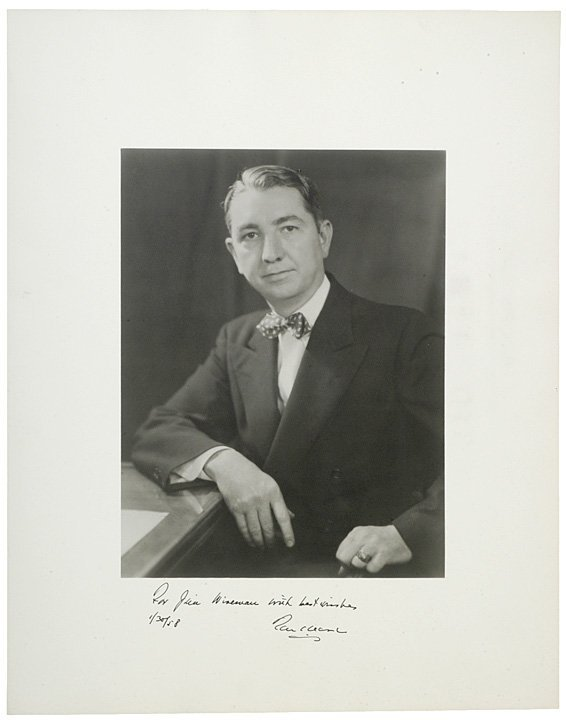 13: Supreme Court Justice TOM CLARK Signed Photograph