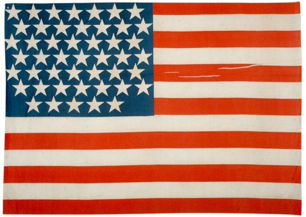 363: 1912, Unofficial 47-Star American Parade Flag