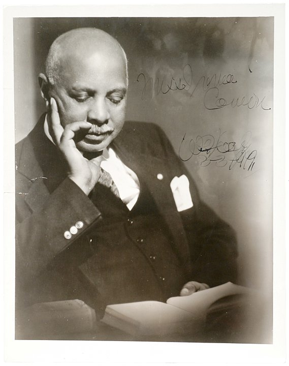2010: W.C. HANDY, Signed Photograph, 1949