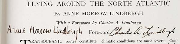 2012: CHARLES & ANNE LINDBERGH, Printed Article Signed - 3
