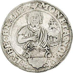 2115: Lubeck 1580 Thaler, German States