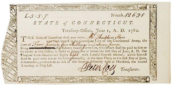 4020: 1782 Connecticut Payment Guarantee