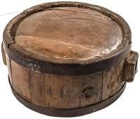 c. 1775 Revolutionary War Era Wooden Canteen