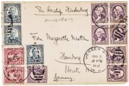 1936 Per Airship Hindenburg, Postal Letter Cover