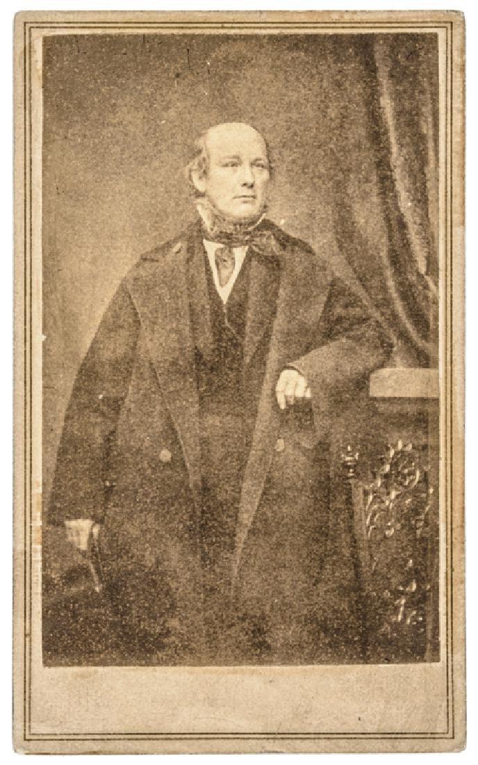 1860s TWO Horace Greeley Carte de Visites