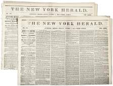 1849 CALIFORNIA GOLD RUSH Two Newspapers, Expelling