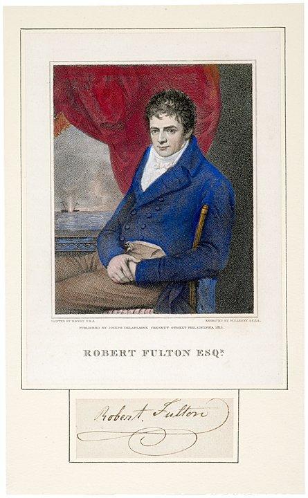 3010: ROBERT FULTON, Cut Signature