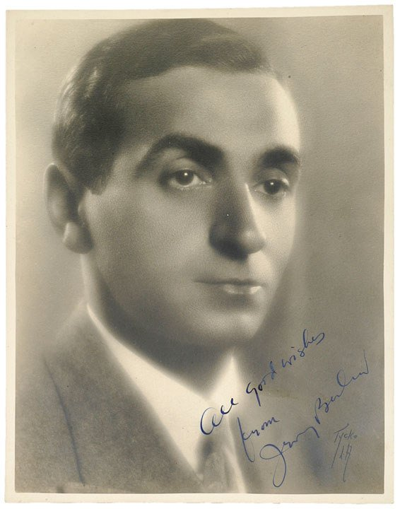 7: IRVING BERLIN, Photograph Signed and Inscribed
