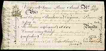 776 Colonial Currency Signer RANDOLPH  BLAIR 1776