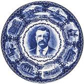 c. 1901 Theodore Roosevelt 26th President Plate