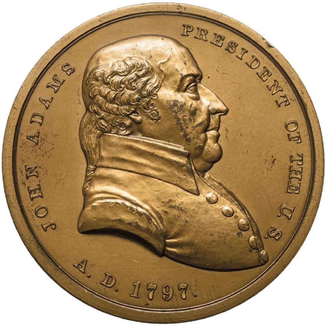 1797 John Adams Indian Peace Medal 20th Century