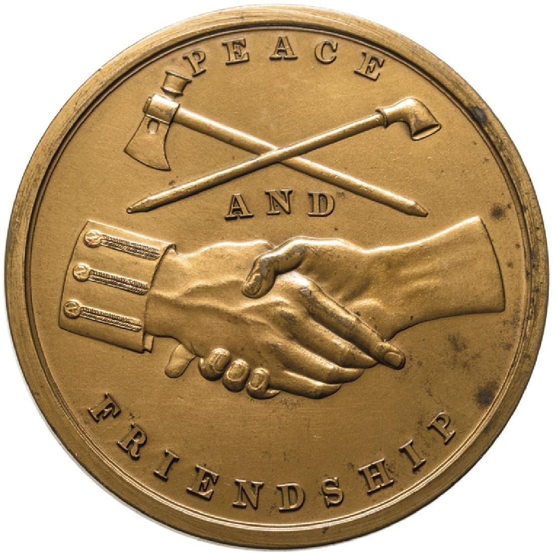 1797 John Adams Indian Peace Medal 20th Century - 2