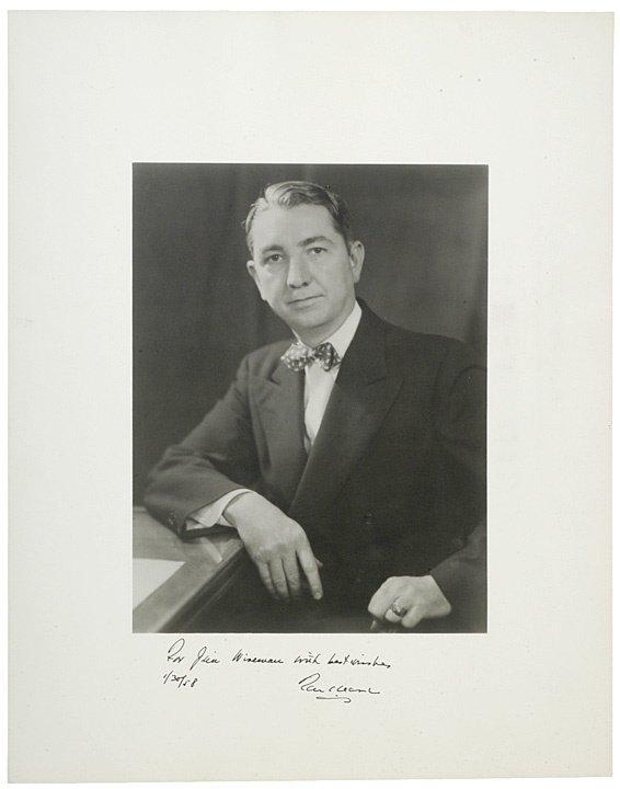 22: Supreme Court Justice TOM CLARK Signed Photograph
