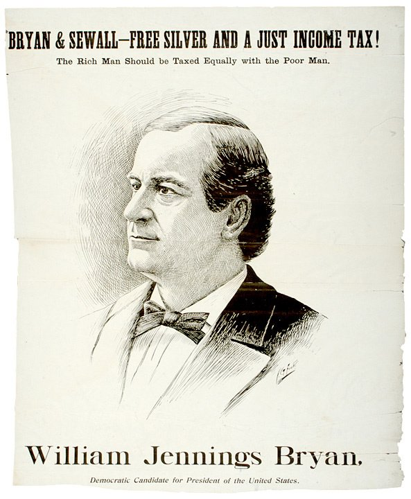 537: Poster Portrait (1896), Presidential Campaign