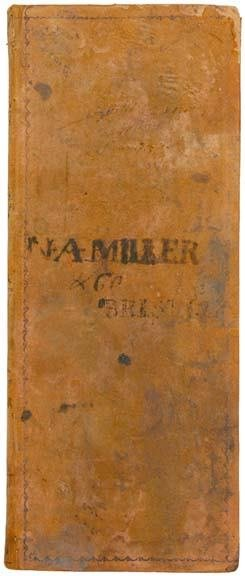 4013: Account Book from the War of 1812 Era