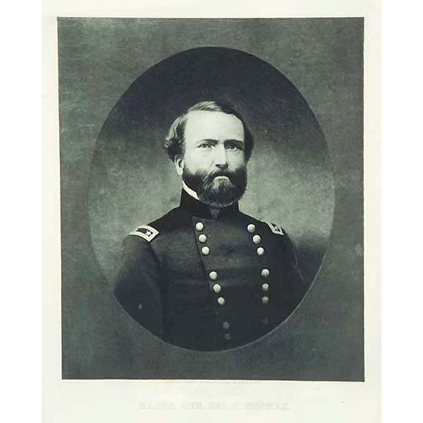 4021: Major General George H. Thomas by William Sartain