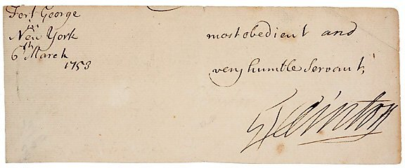 2008: GEORGE CLINTON Signed Document 1753