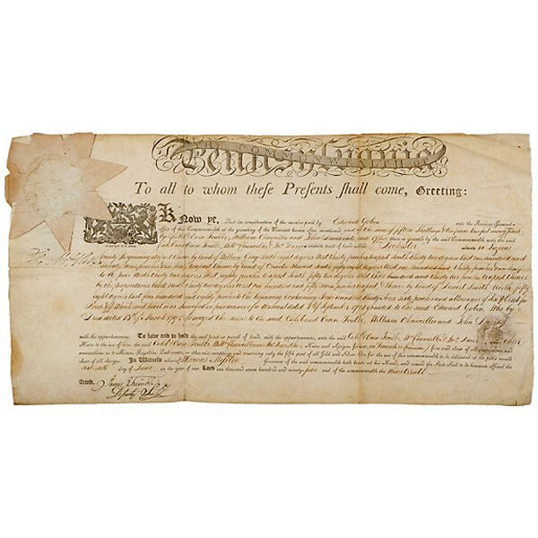 2023: THOMAS MIFFLIN Signed Document 1795