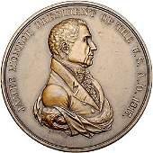 2370: 1817 James Monroe Indian Peace Medal