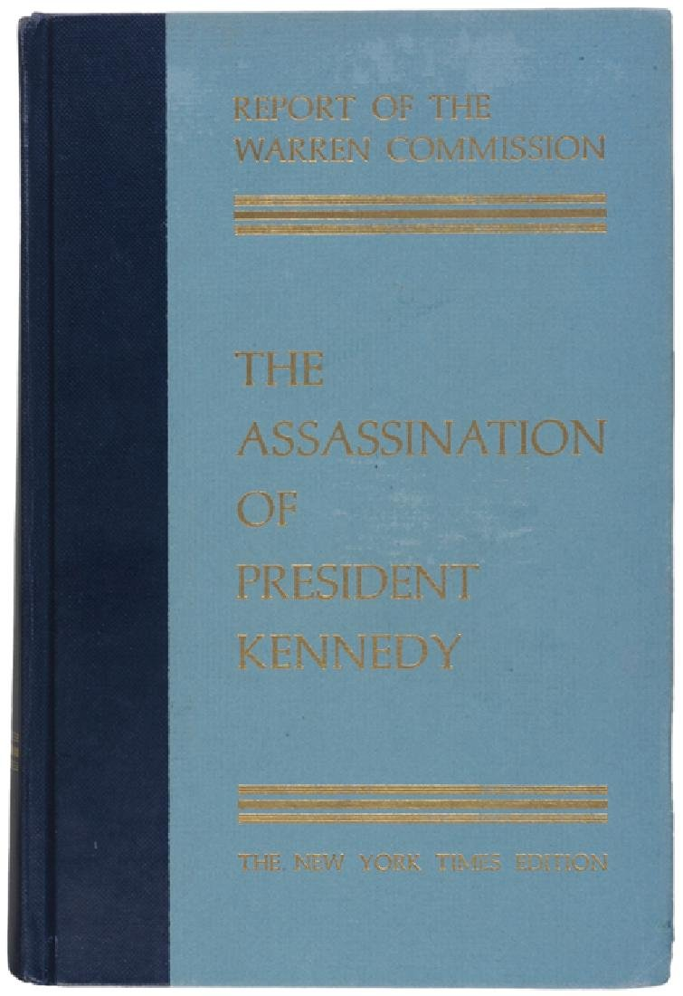 GERALD R. FORDG Signed Warren Commission Report