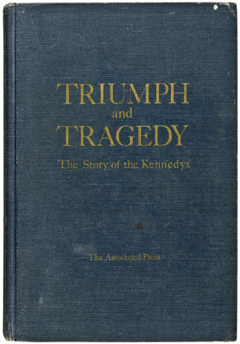 DAVID POWERS Signed TRIUMPH-TRAGEDY THE KENNEDYS