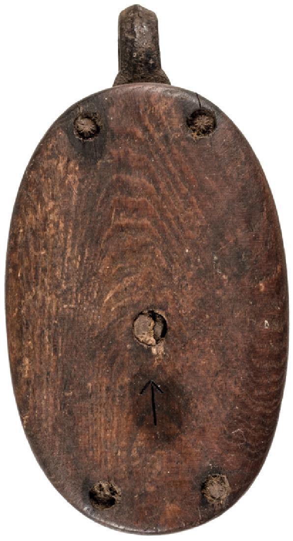 Revolutionary War Era Wooden British Ship Pulley