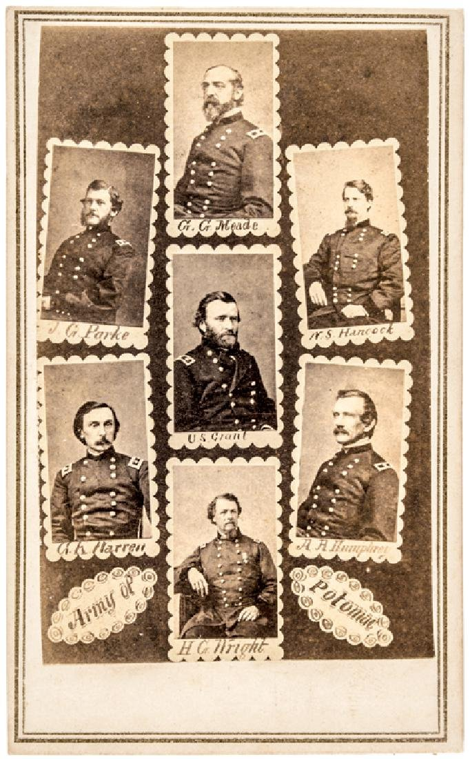 c 1863 Civil War CDV: Army of Potomac by Anthony