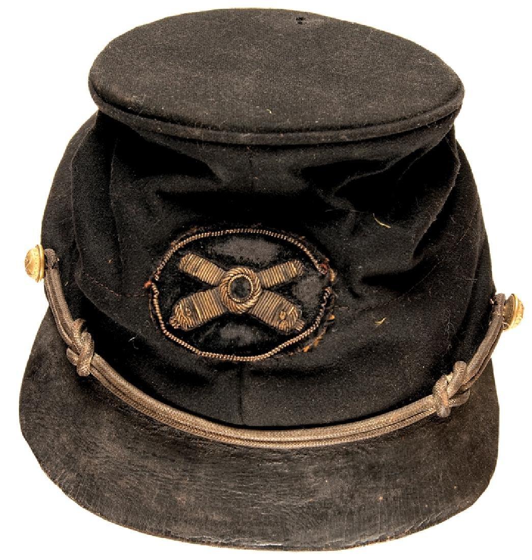 Civil War Union Artillery Officer's Forage Cap!