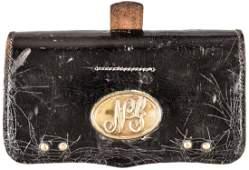 c 1878 4570 Cartridge Box w Brass NY Plate