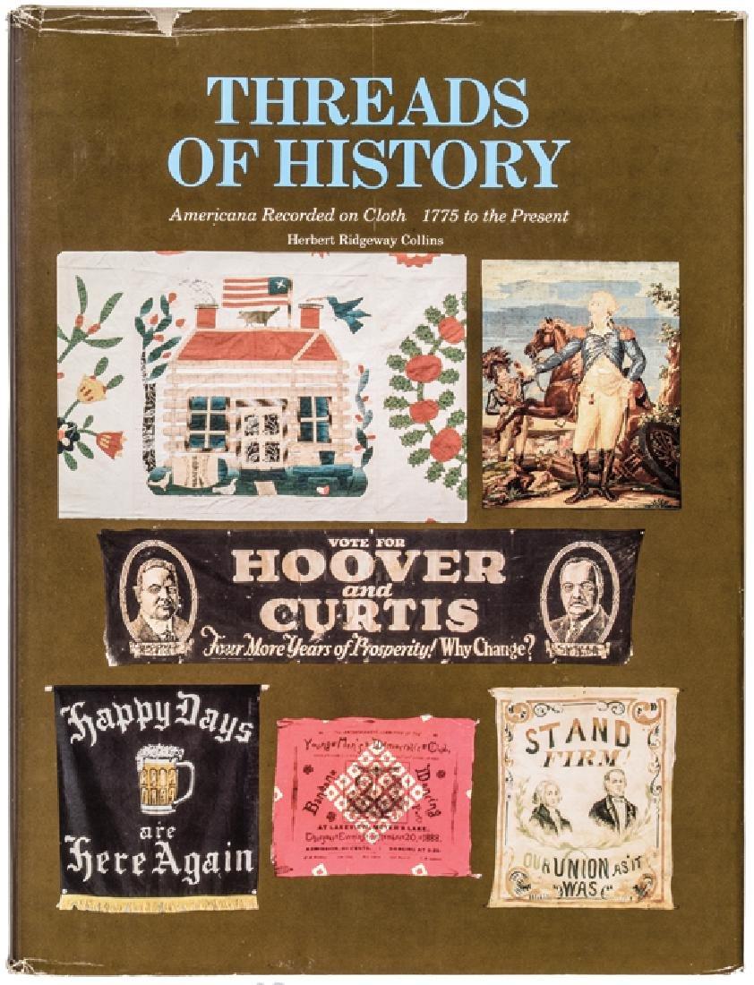 THREADS OF HISTORY Rare Presentation Edition