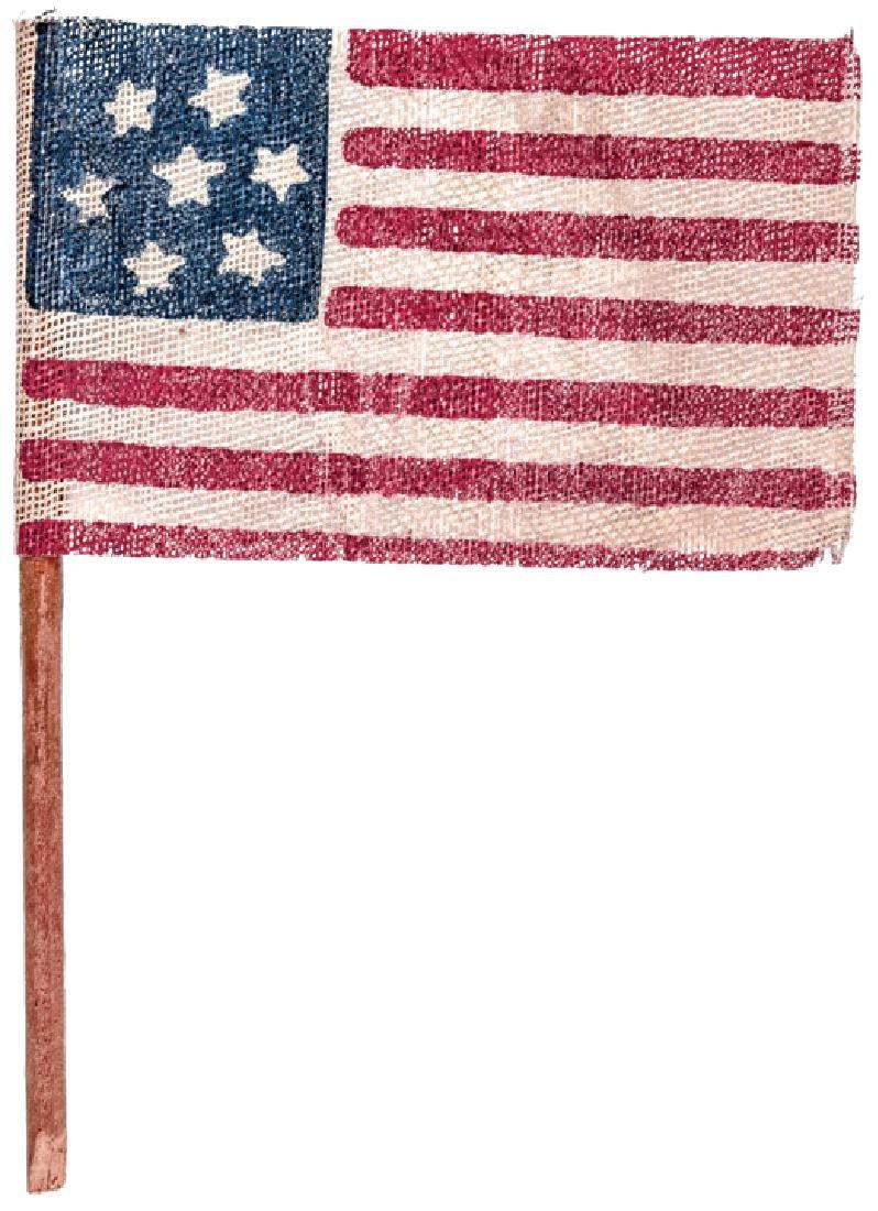 7Star Confederate States Gauze Cloth Parade Flag