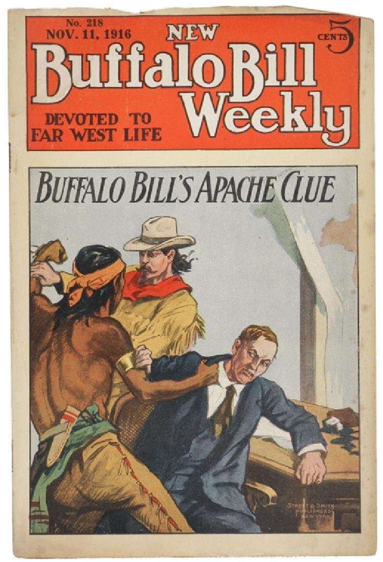New Buffalo Bill Weekly..Devoted to Far West Life