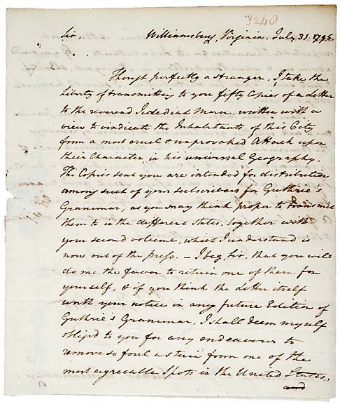 2: Collection of Philadelphia Jurist Letters