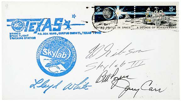 7: Signed Cover by Three Astronauts