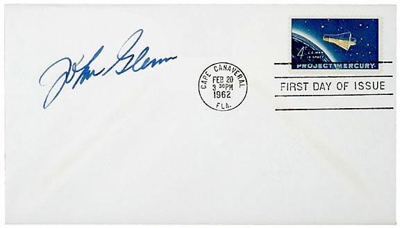 9: Astronaut John Glenn Signed Cover