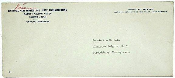 11: Astronaut Gus Grissom Autograph NASA Envelope