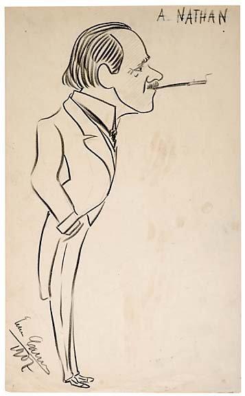 23: Signed Enrico Caruso Caricature