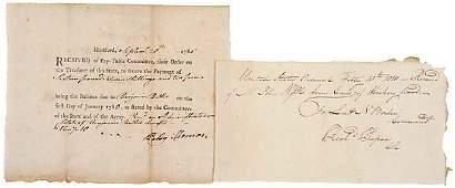 180: 1780, Revolutionary War Soldier's Pay Receipt