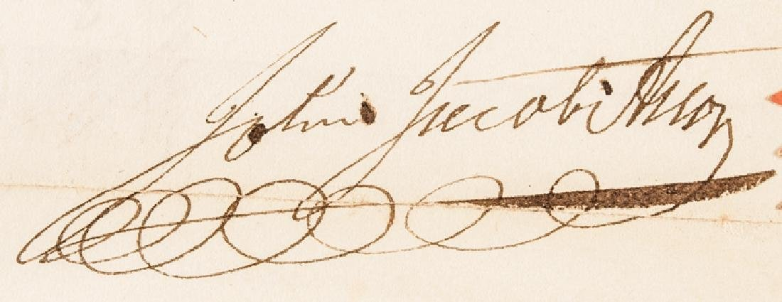 1830 JOHN JACOB ASTOR Signed NY Mortgage Receipt - 3