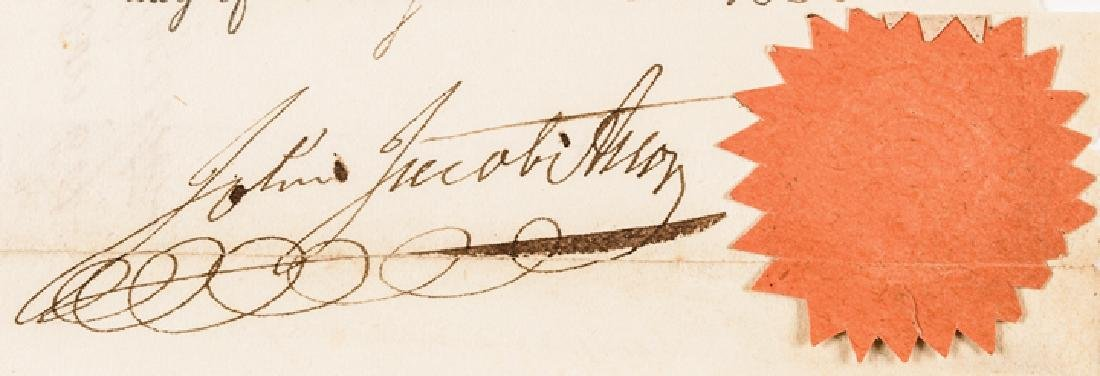 1830 JOHN JACOB ASTOR Signed NY Mortgage Receipt - 4