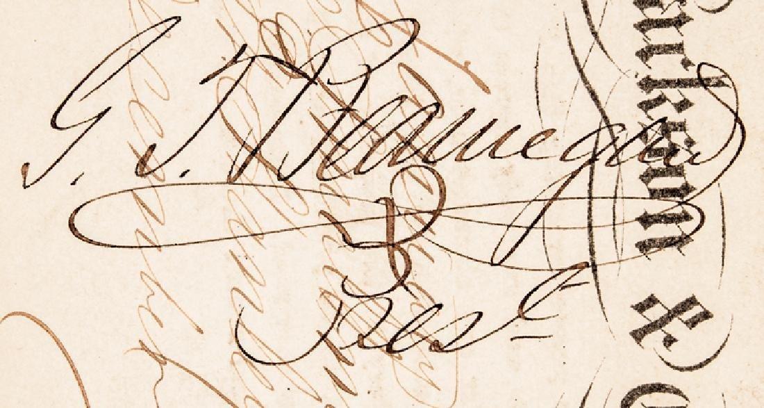 PIERRE GUSTAVE TOUTANT de BEAUREGARD Signed Pass - 3