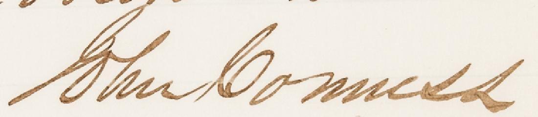 1866 JOHN CONNESS ALS Pres. LINCOLN's Succession - 3