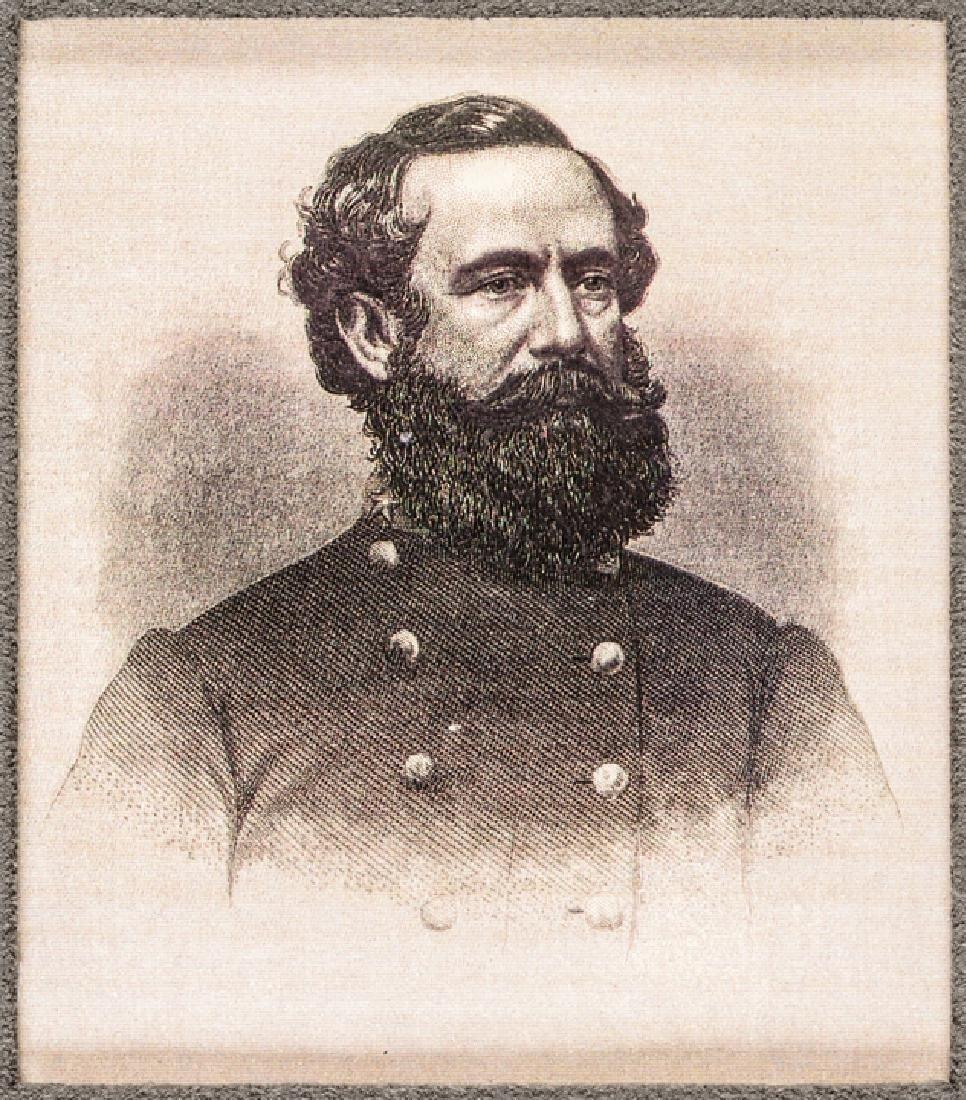 WADE HAMPTON Confederate Cavalry General Signature - 4